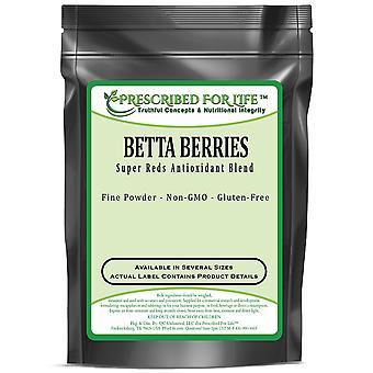 Betta Berries (TM) Mistura antioxidante - Super Red 's Antioxidant Powder Blend