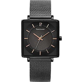 Pierre Lannier LECAR 211J438 - watch case Carr steel black Bracelet steel black man
