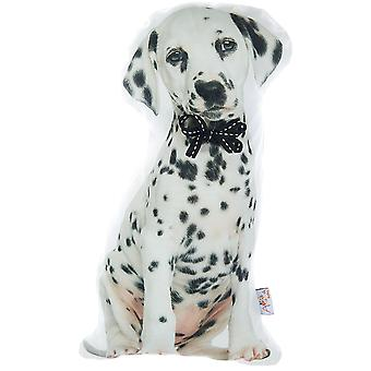 Dalmatian Dog Shape Filled Pillow, Animal Shaped Pillow