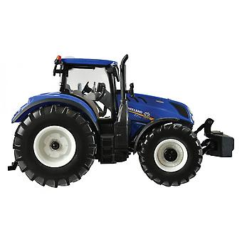 Britains New Holland T 7.315 traktori 1:32 sininen