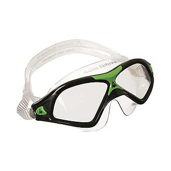 Aqua Sphere Seal XP2 Swim Goggle - Clear Lens - Black/Green Frame