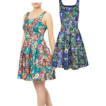 Darling Women's Floral Alice Fit and Flare Dress