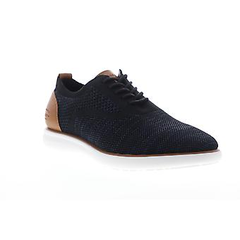 G.H. Bass Connor 2 Tone  Mens Blue Mesh Casual Lace Up Oxfords Shoes