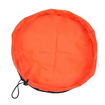 Play mat / Storage bag for toys - Orange