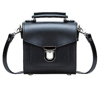 Zatchels Womens/Ladies Handcrafted Leather Top Handle Sugarcube Bag (British Made)