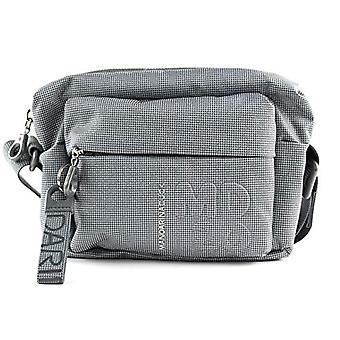 Mandarin Duck Md20 Lux Crossbody Bag Grey Woman (Gun Metal) 9x15x21 cm (W x H x L)