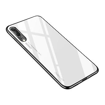 Stuff Certified® Huawei Mate 20 X - Gradient Armor Case Cover Cas TPU Case White
