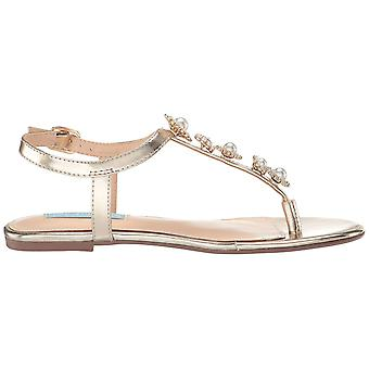 Betsey Johnson Womens SB-Laur Open Toe Casual Ankle Strap Sandals