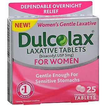 Dulcolax laxante conforto revestido comprimidos para as mulheres, ea 25