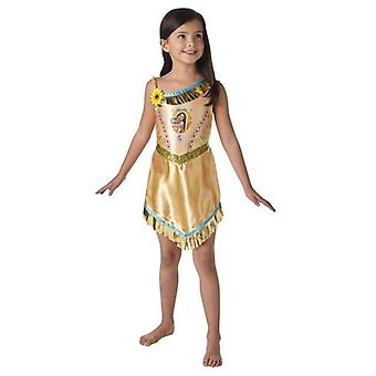 Girls Official Disney Princess Pocahontas Native Indian Wild West Book Day Week Halloween Party Fancy Dress Costume Outfit
