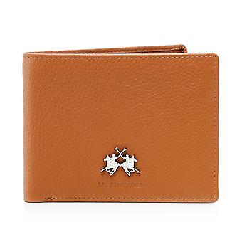 La Martina Tumbled Leather Ambrosio Wallet