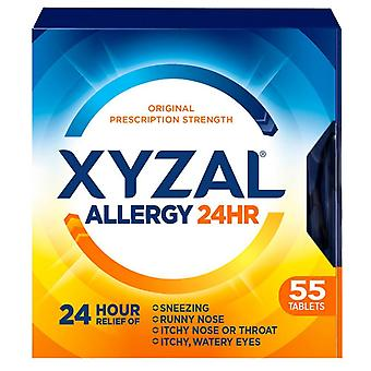 Xyzal allergi relief, roomservice 24 timer, tabletter, 55 ea