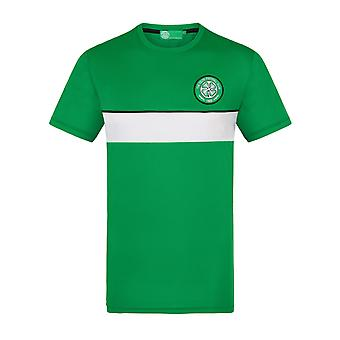 Celtic FC Official Football Gift Mens Poly Training Kit T-Shirt