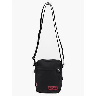 Levi Strauss Bag ~ Mini Crossbody Solidna czarna