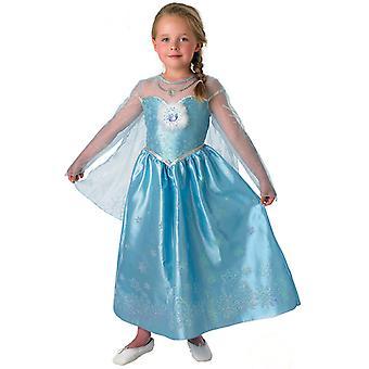 Déguisement Elsa Frozen Deluxe fille