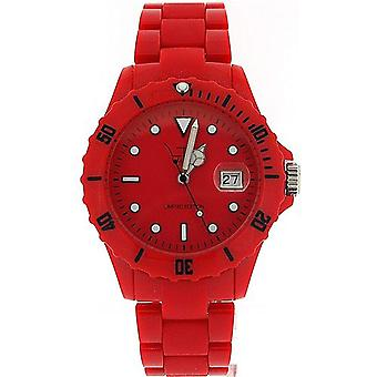 Unisex LTD Adult Analogue Red Plastic Strap Watch - Limited Edition
