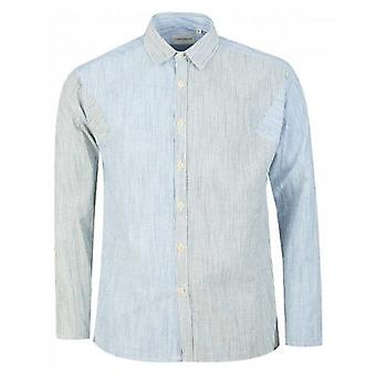 Oliver Spencer Chiswell Cut And Sew Shirt