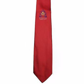 Freimaurer regalia Krawatte mit Lodge-Logo