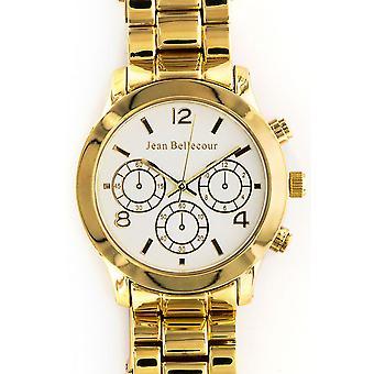 Jean Bellecour Technico REDS10-GW Watch - Women's Dor White Watch