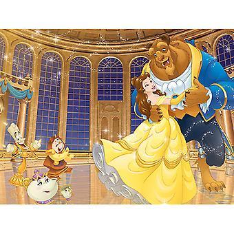Kauneus ja Beast Ballroom Canvas Plate 60 * 80cm
