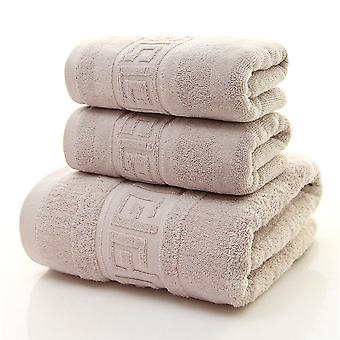 3pc Bath towel set Cotton thickening