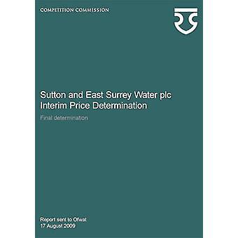 Sutton and East Surrey Water Plc Interim Price Determination - Final D