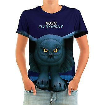 Born2rock - fly by night - rush t-shirt