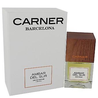 Ambar Del Sur Eau De Parfum Spray (Unisex) Carner Barcelona 3,4 oz Eau De Parfum Spray