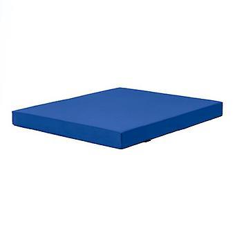 Fun!ture Blue 'Delta' Water Resistant X-Large Fitness Gym Mat - 120cm x 100cm