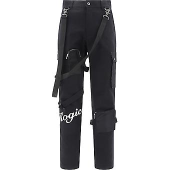 Rogic Rg201006 Men's Black Cotton Pants