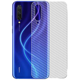 Back Film Xiaomi Mi 9 Lite Latex Carbon Effect Anti-scratch iMak clair
