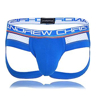 Andrew Christian Show-It Sports Mesh Letter Jock | Men's Underwear | Men's Jockstrap