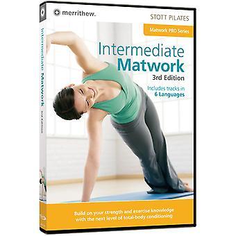 Stott Pilates: Intermediate Matwork 3rd Edition [DVD] USA import