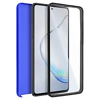 Cover Samsung Galaxy Note 10 Lite Hard Back + Front Protection Blue