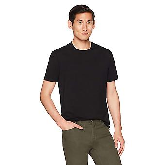 "Goodthreads Men & apos; s ""The Perfect Crewneck T-Shirt"" Short-Sleeve Cotton, Svart, ..."