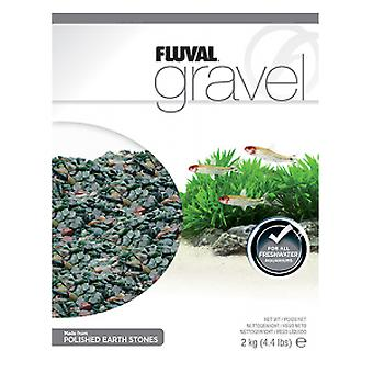 Fluval Fancy Blood Fluval Gravel 4-8mm (Fish , Decoration , Gravel & sand)