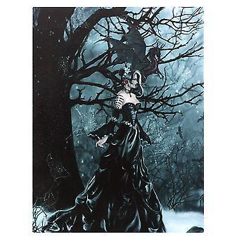 Nene Thomas Queen Of The Shadows Canvas Plaque