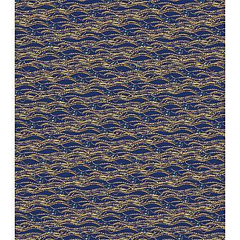 """أوراق حرفة Decoupage الكونسورتيوم 13.75 """"X15.75"""" 3/Pkg--الأزرق شارات"""