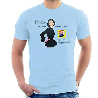 Pepsi Cola Refreshes Without Filling Men's T-Shirt