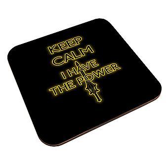 Keep Calm Have The Power Heman Coaster
