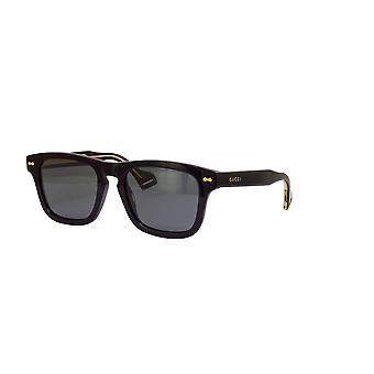 غوتشي GG0735S 002 أسود / مستقطب رمادي نظارات شمسية