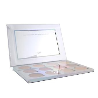 PUR (PurMinerals) Extreme Visionary 12 Piece Magnetic Eyeshadow Palette 15.6g/0.55oz