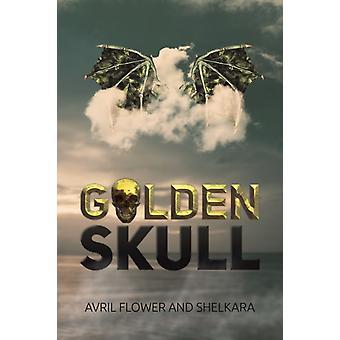 Golden Skull by Shelkara & Avril Flower