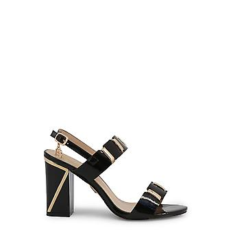Laura biagiotti 6156 kvinder's syntetiske patent læder sandaler