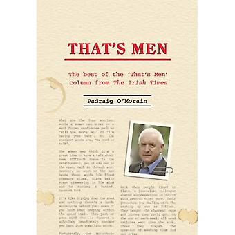That's Men for You: The Best of the 'That's Men' Column from the Irish Times