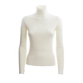 Pinko 1g15j2y6rlz08 Kvinder's Hvid Uld Sweater