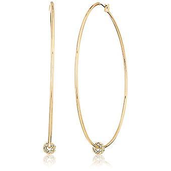 Kenneth Cole New York dame store Trinity ringe krystal, guld, størrelse en størrelse