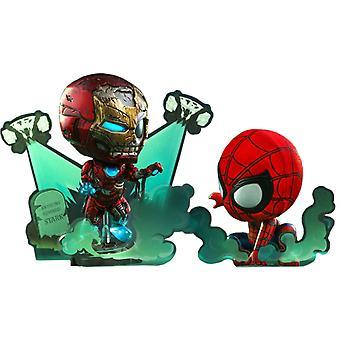 Spider-Man Far From Home Spider-Man & Iron Man Cosbaby Set
