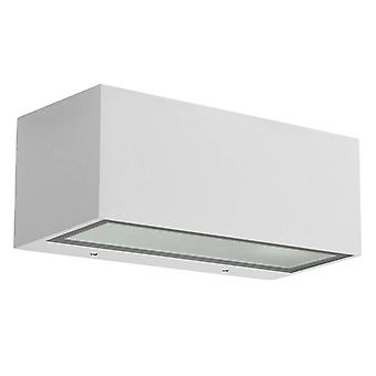 Leds-C4 Nemesis Aluminium - 1 Light Outdoor Wandleuchte Weiß IP54, E27