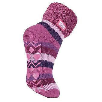Heat Holders Women's Lounge Socks Pink